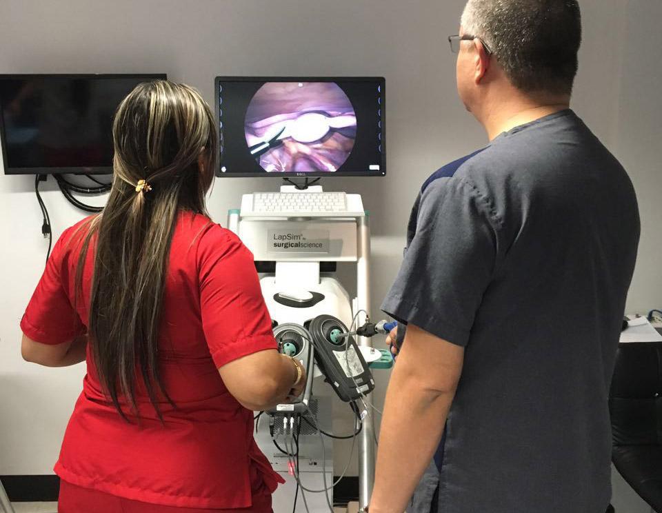 Simulador endoscopia